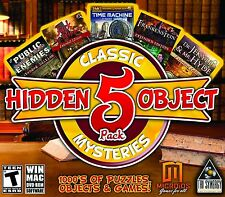 Hidden Object Classic Mysteries 5 Pack Game (PC/MAC DVD-ROM) BRAND NEW