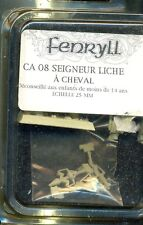 FENRYLL 1  BLISTER C A08 SEIGNEUR LICHE A CHEVAL
