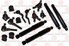 Front & Rear Shock Absorber Ball Joints Tie Rod End For Mitsubishi Montero Sport