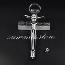 1pcs Steel Dental Aspirating Syringe / Dentist Surgical Instruments Tool Kit AU