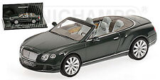 BENTLEY CONTINENTAL GTC 2011-13 VERDE 1:43 Minichamps