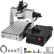 3 Axis Cnc 3020 Router Kit 500w Desktop 3d Woodworking Milling Carving Machine