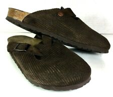 Birkenstock Boston 25th Anniversary Brown Corduroy Shoes Women's EU 40 N US 9