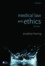 Medical Law and Ethics by Jonathan Herring (Paperback, 2016) 6th edition