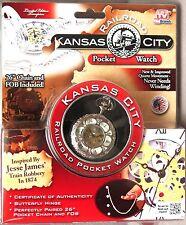 Kansas City Railroad POCKET WATCH Limited Edition + COA FreeShip NEW