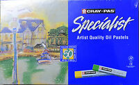 Cray-Pas 50 Specialist Oil Pastels 50 Expressionist Pastels NEW