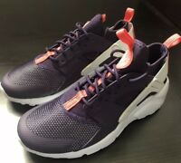 Nike Air Huarache Run Ultra Big Kid Youth Sneakers Trainers Shoes Purple Sz 4.5