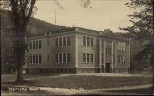 Bethel VT Whitcomb High School c1910 Real Photo Postcard