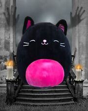 "Kellytoy Squishmallow 2020 Halloween Catarina the Cat 8"" Plush Stuffed Toy Pink"