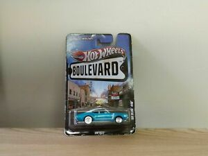 Hot Wheels Boulevard '68 OLDS 442 Blue Real Riders