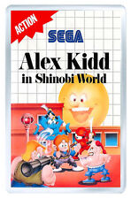 ALEX KIDD IN SHINOBI WORLD SEGA MASTER SYSTEM FRIDGE MAGNET IMAN NEVERA
