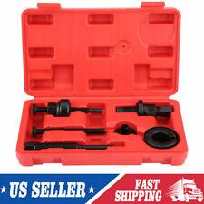 6Pcs Power Steering Pump Pulley Kit Puller Remover Installation Tool Set C2 C111