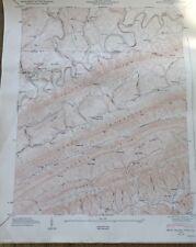 Vintage1948 Tennessee Map~Back Valley~VA/TN Border~Powell Mt~TN USGS Topo Map