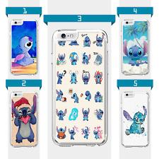 Disney Lilo Stitch Anime Cartoon Case For iPhone 6 7 8 X XS XR SE 11 12 Pro Mini