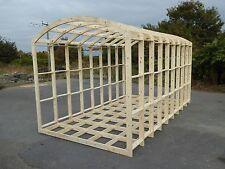 Shepherds Hut Frame, Glamping Pod  Framework  4.8m (L)  x 2.59m (W) x 2.62m (H)