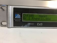 SCIENTIFIC ATLANTA POWER VU D9850 DIGITAL RECEIVER Tested To Power   As Pictured