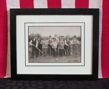 Vintage 1920s Hunting Party Photograph Matted/Framed 5x7 Photo Antique Sportsmen