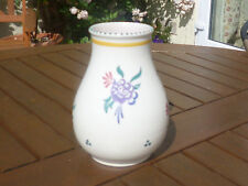 Collectable 1960's Vintage Poole Pottery Vase with Purple Flowers Pattern