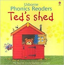 Usborne Book (new) Phonics Reader TED'S SHED