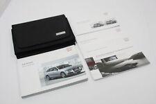 Audi A4 B8 Avant Owners Manual Handbook and Wallet