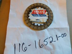 NOS OEM Clutch Friction Plate Yamaha PW50 PW80 Y-Zinger, BW80, LB80, YFM50 YFM80