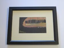 FINEST MIKE RIVERO PAINTING MID CENTURY CUBAN AMERICAN  MODERNIST EXPRESSIONISM