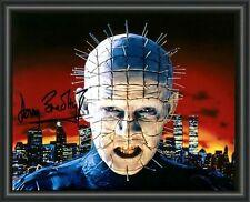 HELLRAISER - Doug Bradley PINHEAD HORROR -A4 SIGNED PHOTO POSTER - FREE POSTAGE