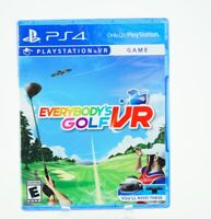 Everybody's Golf VR: Playstation 4 [Brand New] PS4