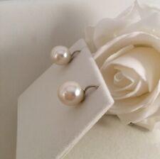 Vintage Jewellery Pearl Earrings Silver Antique Deco Jewelry Ear Rings Pearls
