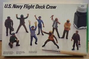 U.S. Navy flight Deck Crew 1/48 Testors 518 Model Kit 021721DBT3