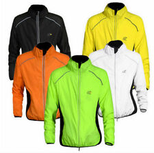 For bike Bicycle Cycling Suit Wind Guard Windvest Coat Long Jacket Sleeve XXXL B