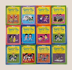 Delightful Collection of Vintage Topsy and Tim Books - 12 Books