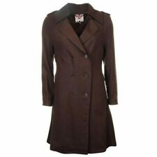 e73495511958 Ladies Lee Cooper Lightweight Wool Blend Buttoned Trench Coat Sizes from 8  to 16