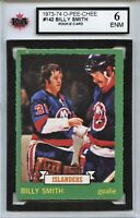 1973-74 O-Pee-Chee #142 Billy Smith RC Graded 6.0 ENM (100519-117)
