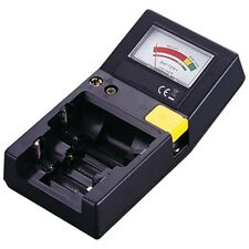 BATTERY TESTER FOR AAA AA C D PP3 & BUTTON CELLS (5)