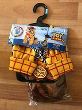 Disney Toy Story 4 Woody Pet Costume S—Shirt, Vest, Bandana, Hat. NEW!