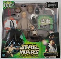 STAR WARS POWER OF THE JEDI LUKE SKYWALKER ACTION COLLECTION 100TH 12 INCH FIG.