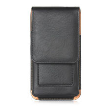 Belt Clip Loop Holster PU Leather Pouch Carry Case Cover Holder for Mobile Phone
