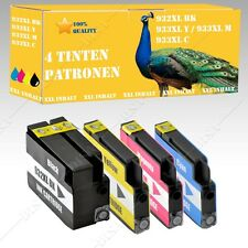 4x no OEM Cartuchos de tinta alternativa para HP OfficeJet 7110 7612 932 933XL