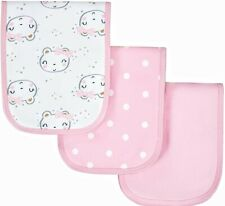 BABY GIRL INFANT PINK BURP CLOTHS GERBER ORGANIC COTTON BURPCLOTHS BURPCLOTH