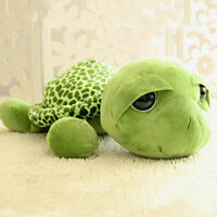 Cute Big Eyes Green Tortoise Turtle Animal Kids stuffed Plush Toys Gift 20CM