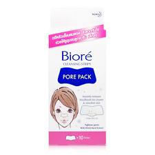 10 Strips Biore Pore Pack Cleansing Nose Tightening Peel-Off Blackhead Remover