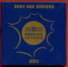 FRANCE 200 euros Or Euros des Régions BU 2011