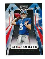 2019 Panini Playoff Air Command Daniel Jones #2 Rookie Insert Card NY Giants 🔥