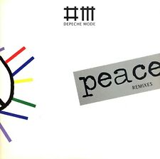CD MAXI SINGLE DEPECHE MODE PEACE REMIXES LIMITED EDITION RARE COMME NEUF 2009