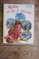 MARTINE et les 4 saisons de Marcel Marlier Farandole 1962