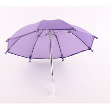 Hot purple Christmas gift Umbrella for 18inch American girl doll accessory b901
