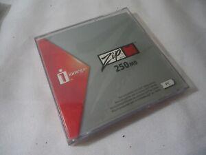 iOMEGA 250MB ZIP DISC Data Storage Disk PC Format