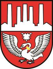 Aufkleber Neumünster Wappen Autoaufkleber Sticker Konturschnitt