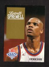 Latrell Sprewell--1993-94 Skybox Draft Pick Card--Golden State Warriors